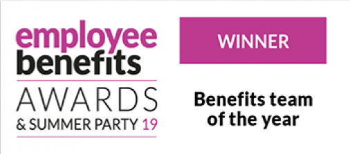 benefits team of the year award