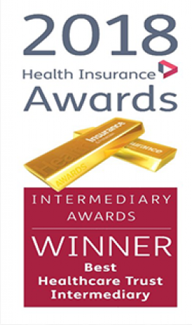 best healthcare trust intermediary award