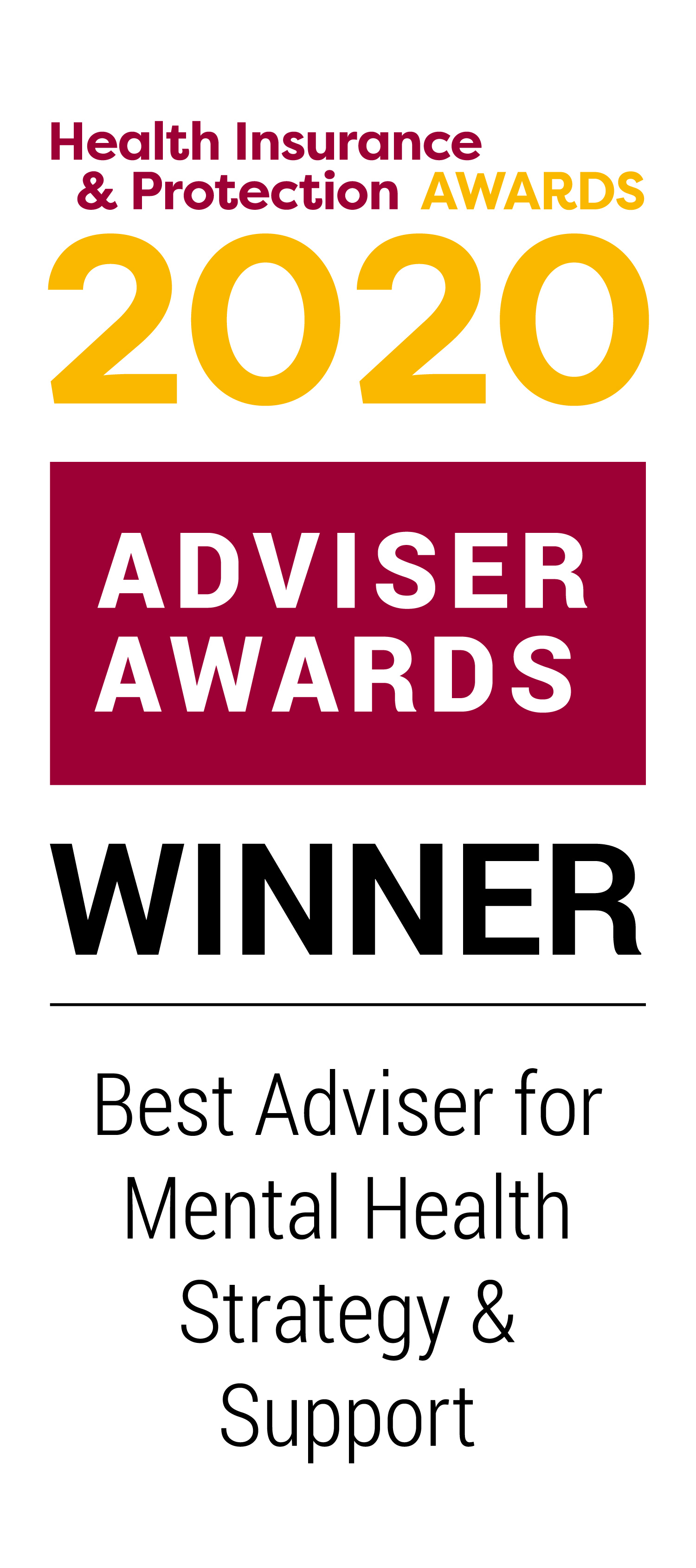 Best Adviser for Mental Health Strategy & Support 2020