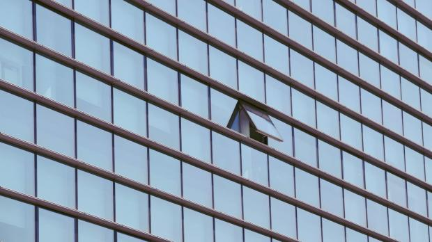 window in high-rise building open - open for business - COVID-19 - Howden UK