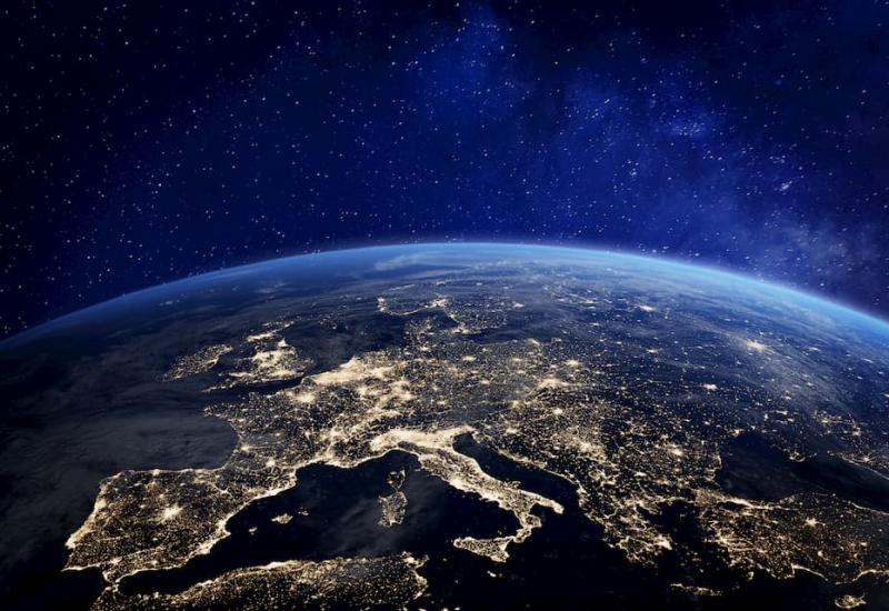 Earth from space at night - Howden UK - LLoyds Brexit