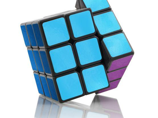 An image of a Rubix cube in Howden colours