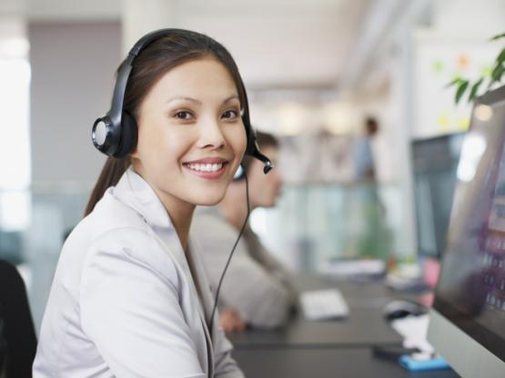 Call centre operative