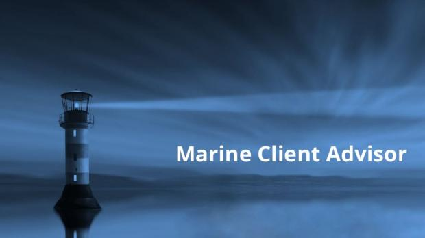 Marine Client Advisor - Dramatic image of a lighthouse at night