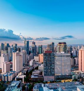 Makati skyline day